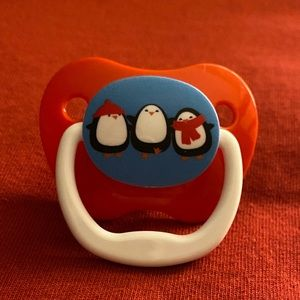1 New Dr. Brown's Christmas Penguin Pacifier